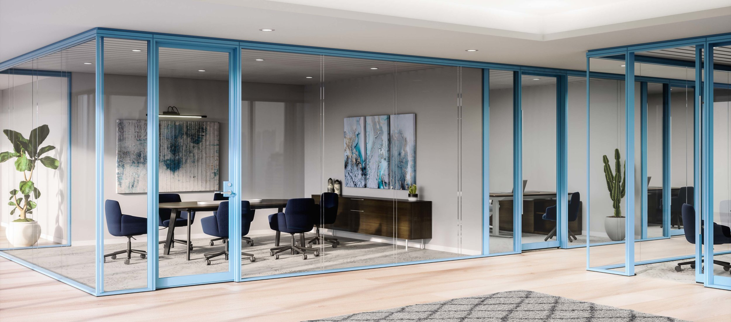 6.98914.0.Enclose Frameless Glass Haworth Moveable Walls with Poppy meeting room.jpg