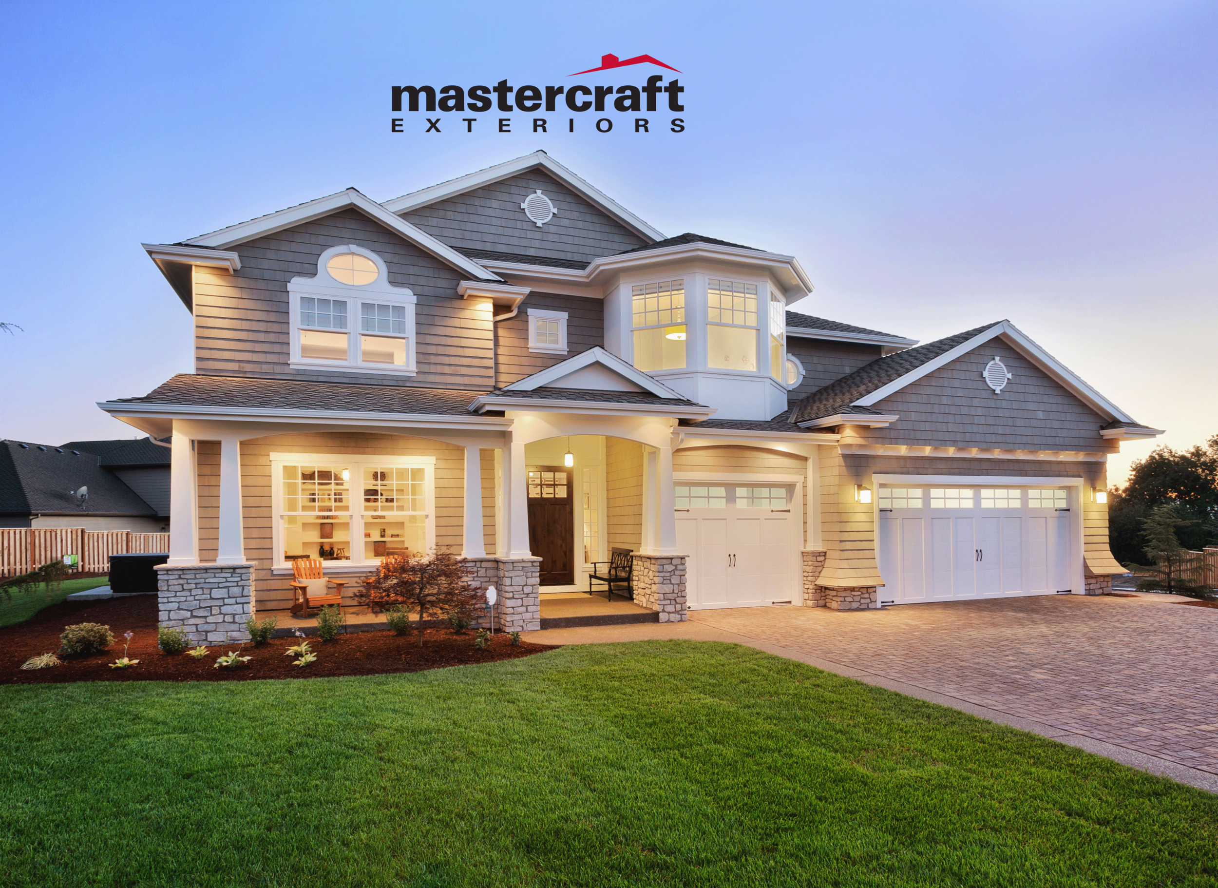 """Mastercraft Exteriors   We are fortunate to help become a marketing/branding partner to Mastercraft exteriors. They have over 30 years of experience and track record in business. This last year we have helped """"remodel"""" their image. We help target market to their specific customers by many key demographics by diligently defining their ideal customers, understand their buying preferences and find precision approaches to help them help more homeowners and businesses for roofs, siding, windows and more.  We help curate their branding image, marketing plan, and how it is carried out while making sure their investment is treated as we are looking to generate a return on their investments.    Services provided:    Re-Branding Image  Essential Digital Fundamentals (Re-design and Essential Updating): Website, Google Business, Facebook, Instagram, and multiple 3rd party sites specific to their industry for reviews and credibility rankings/searches/services.  Trade Shows: Signage Designed and Printed, Branded Tablecloths, Promotional Items and Giveaways  On Going Marketing Help: Team Apparel, Business Cards, Yard Signage, Designing Ads, Fliers, Door Hangers and consult on marketing strategies."""