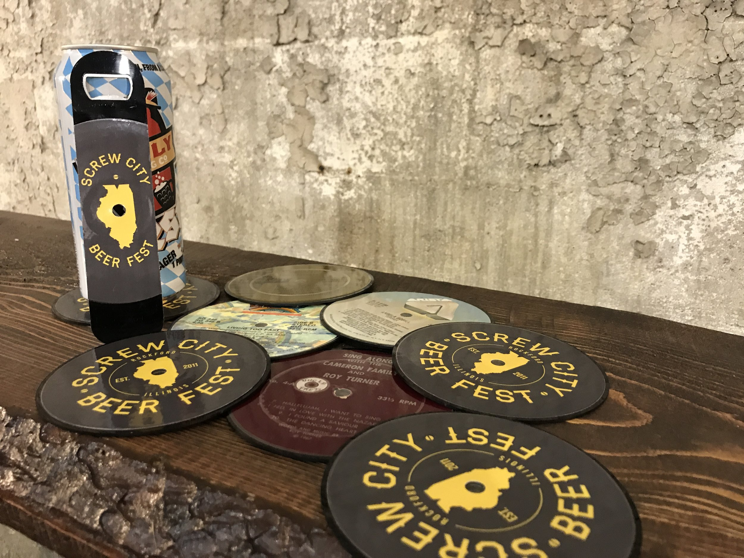 Bottle Openers, Coasters and More!