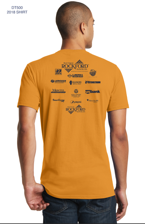 T-Shirts that show off your sponsors!