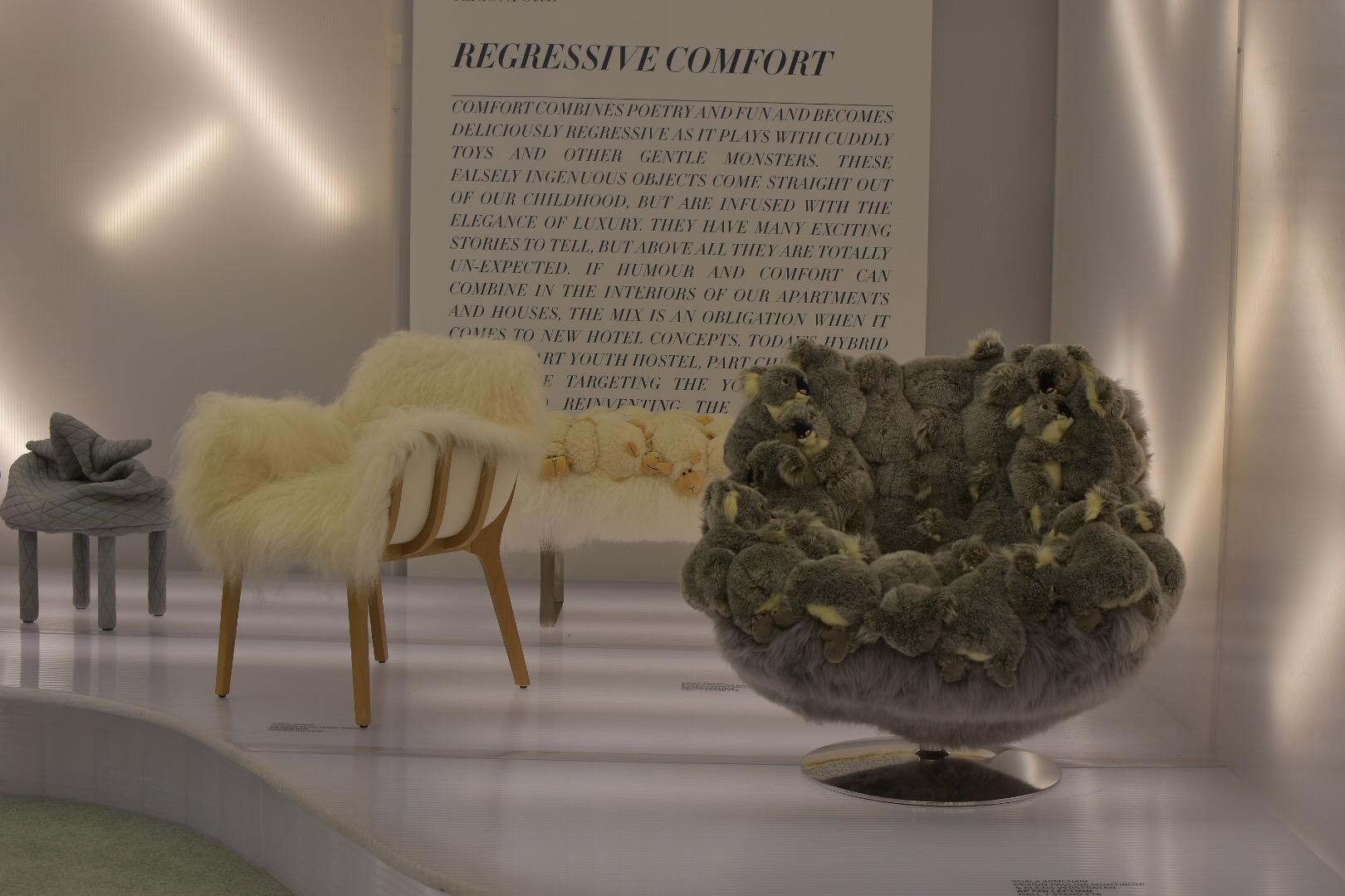 AP collection featured in the Comfort Lounge at Maison et Objet September 2017