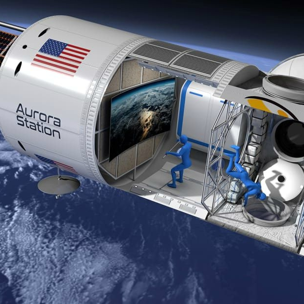THE NEWEST LUXURY EXPERIENCE IS OUT OF    THIS WORLD. - The waitlist has launched: the terms include an $80,000 deposit towards a $9.5 million stay...in space. (via Travel + Leisure)