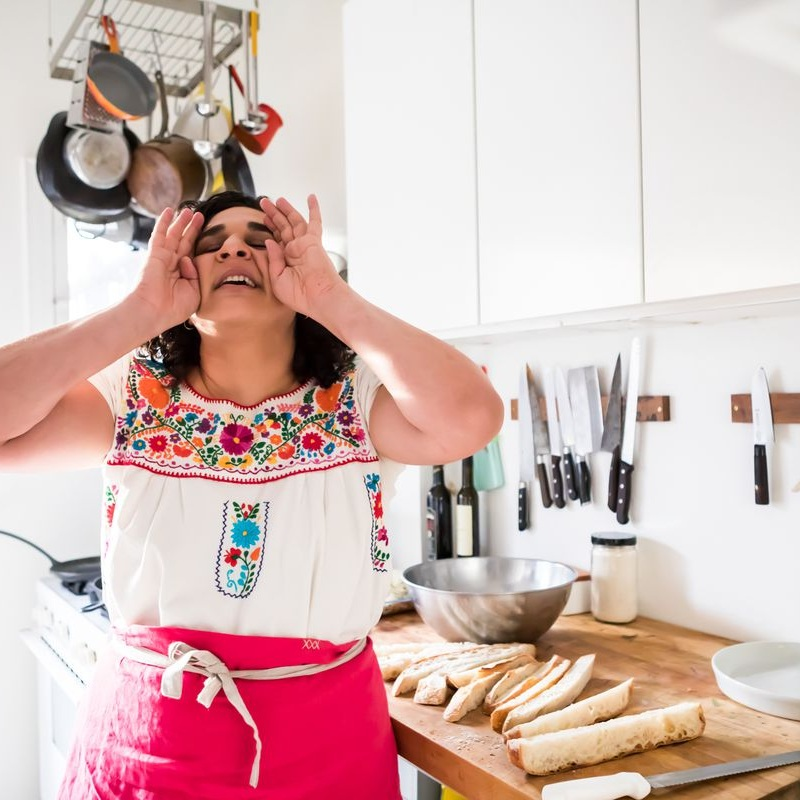 """FOR THE LOVE OF COOKING, PERSIAN-STYLE. - """"Salt, Fat, Acid Heat"""" is a love letter to cooking, seen through the warm, passionate lens of Samin Nosrat. (via The Atlantic)"""