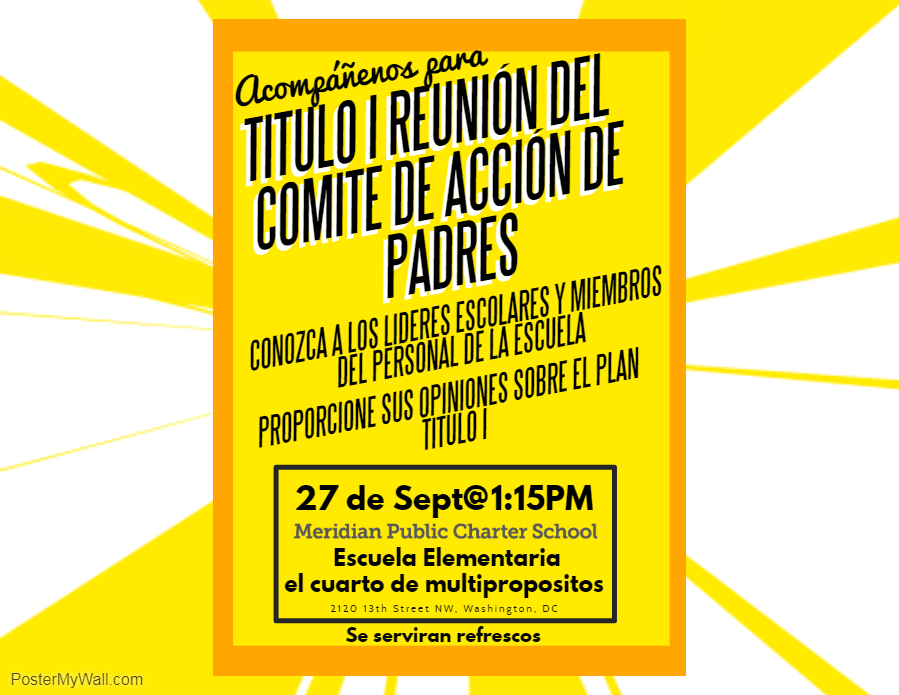Title I PAC mtg - SPanish - Made with PosterMyWall.jpg