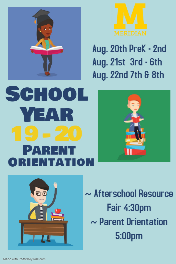 During Parent Orientation, we will distribute classroom rosters, review key policies in our Parent & Student Handbook, and teachers will introduce themselves and the curriculum for the year. You will also receive additional information on afterschool clubs start dates, meeting times, and content. At the Elementary School orientation, representatives from after care programs will make brief presentations, provide applications, and take questions.