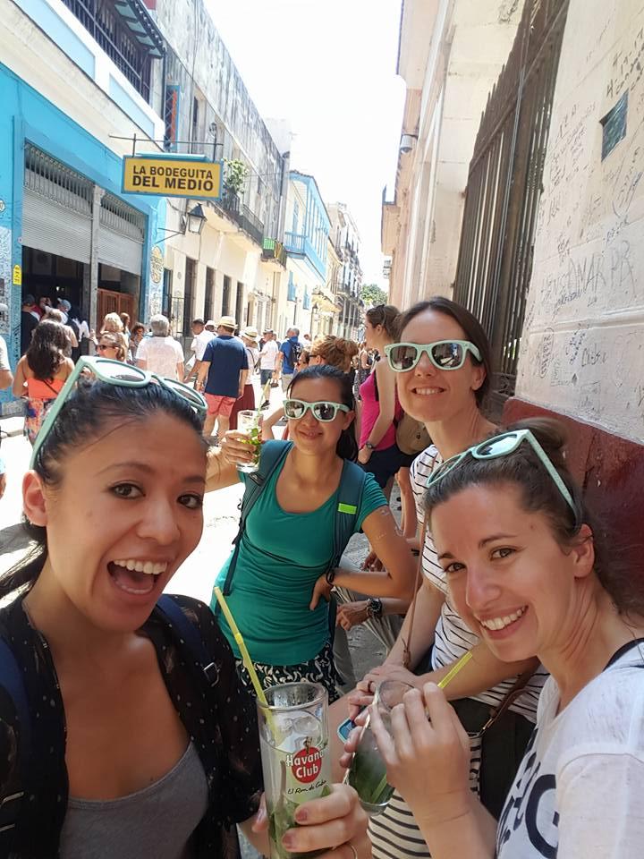 Mojitos at La Bodeguita del Medio