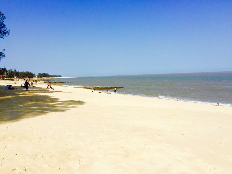 Beach in Beira