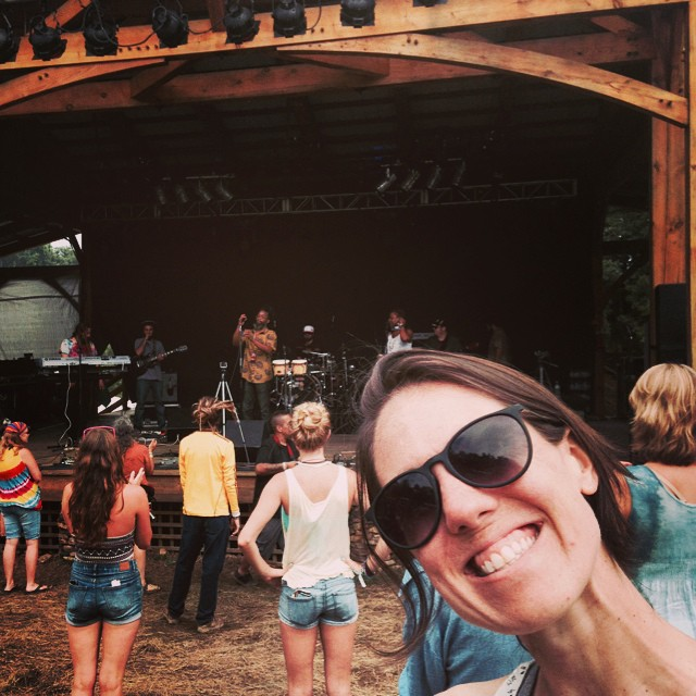 Love the intimate atmosphere at FloydFest!