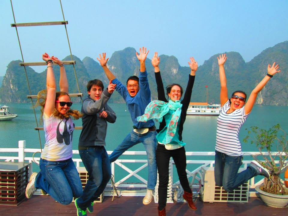 Yay for Halong Bay - one of the 7 Wonders of Nature.