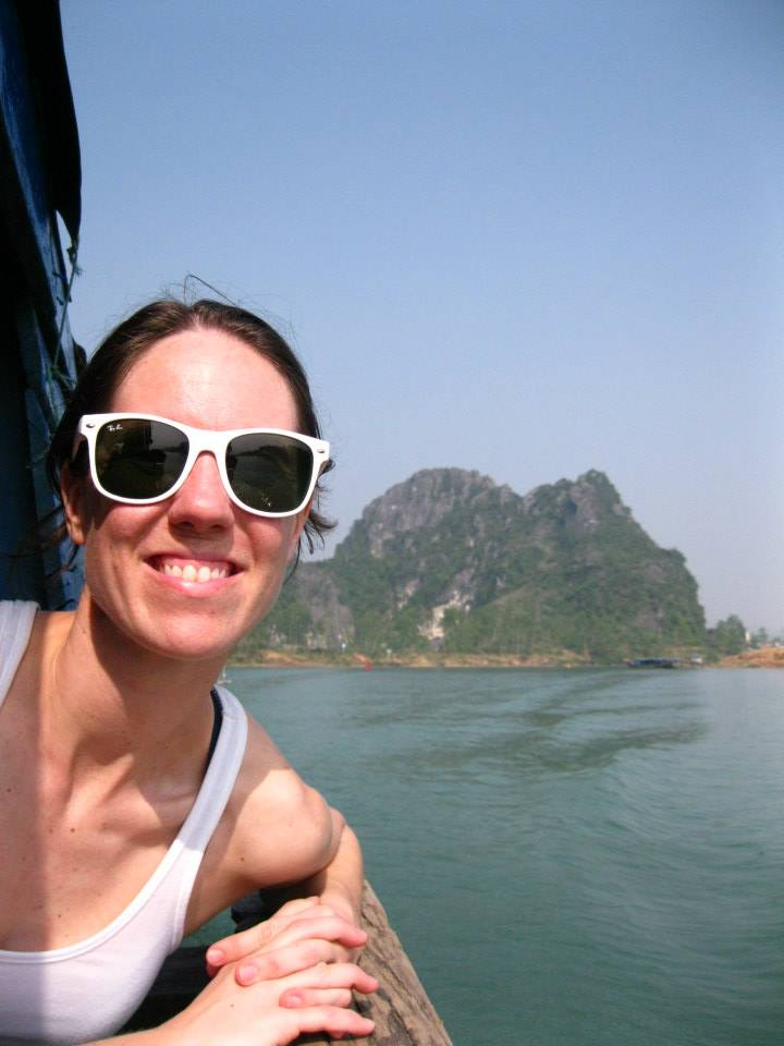 Boat ride to Paradise Cave - Vietnam