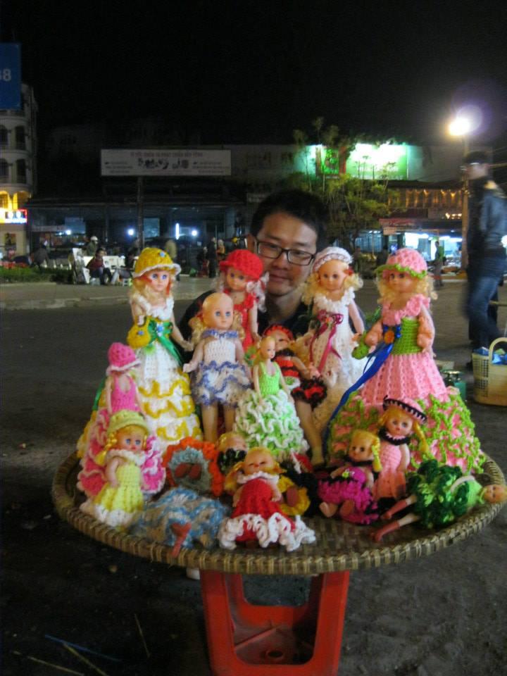 Dalat, Vietnam - night market