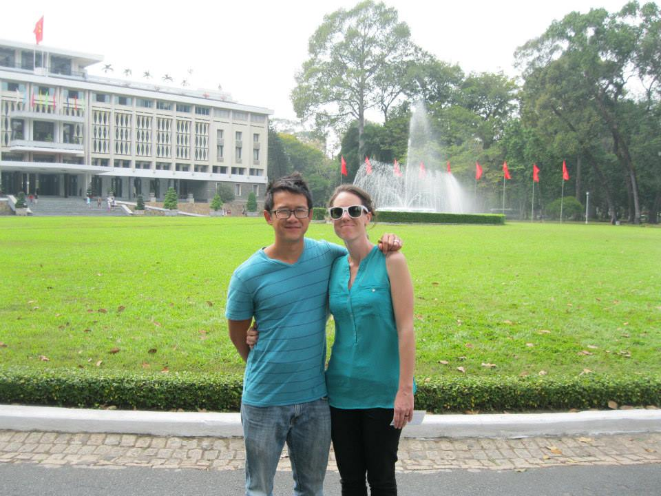 reunification palace - Ho Chi Minh City, Vietnam