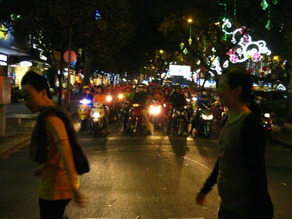 Saigon, Vietnam traffic