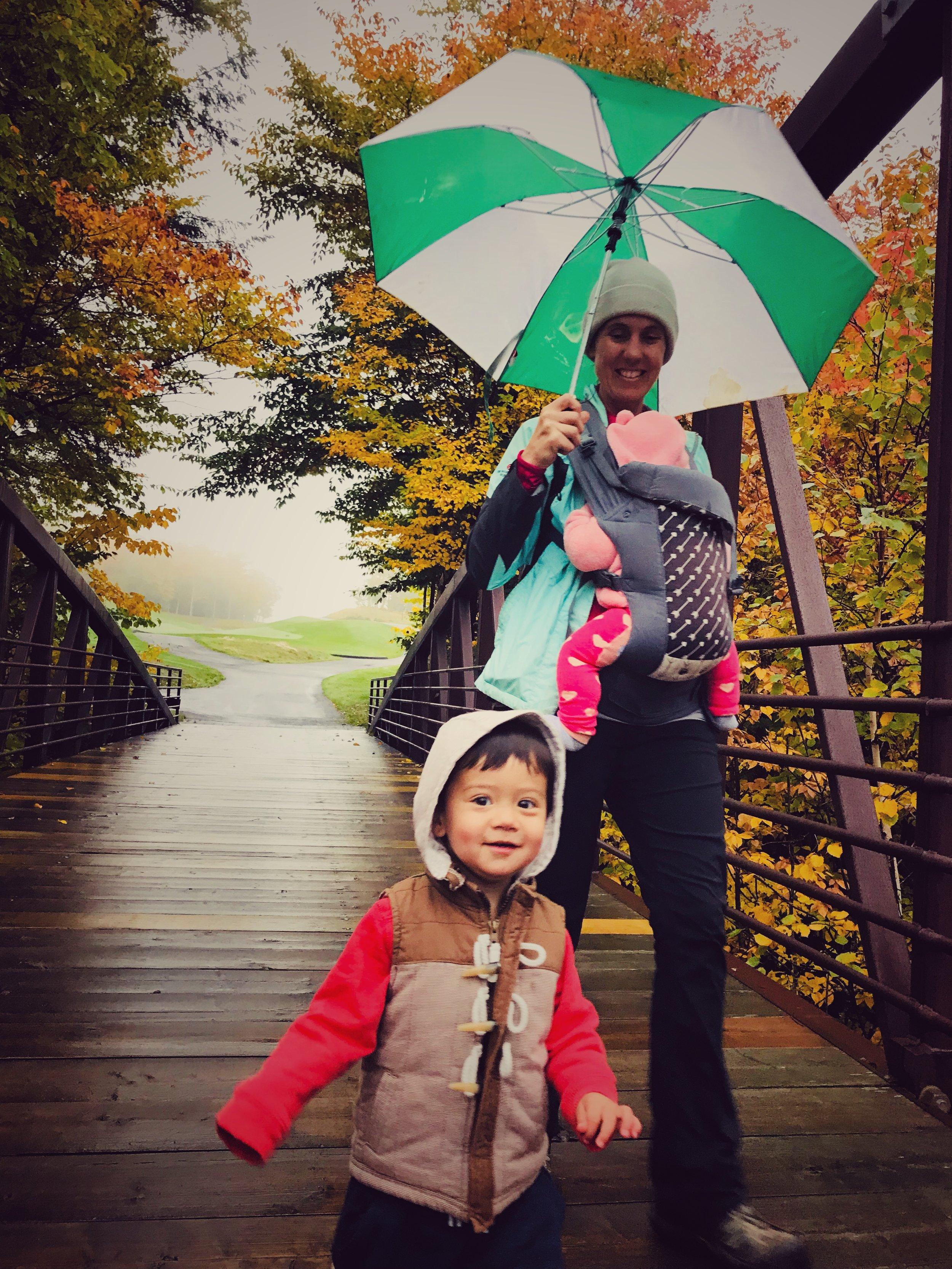 Walking trails at Stowe Resort