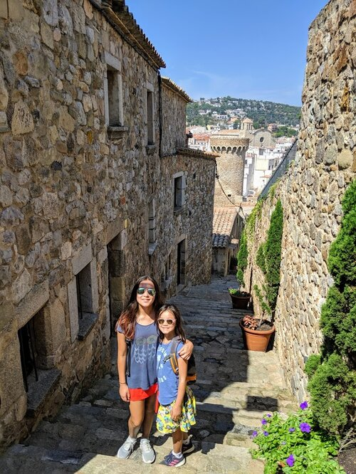 Some of Villa Vella is not so stroller friendly - but we managed just fine.