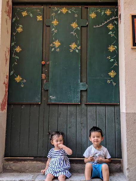 Besalu Spain doors