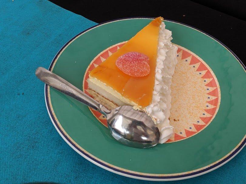 Cake for dessert