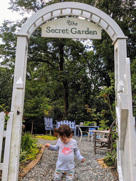 There are so many magical spots here for kids to explore.