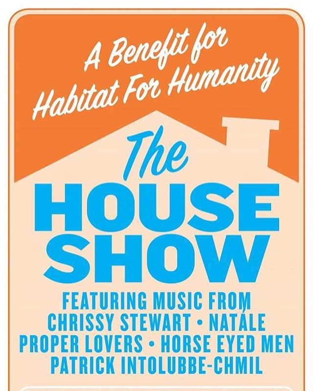 This Saturday! We will be playing @columbustheatre with good friends to benefit @habitatforhumanity and if you haven't gotten a chance to support @chrissystewart_ new album, now's the time!
