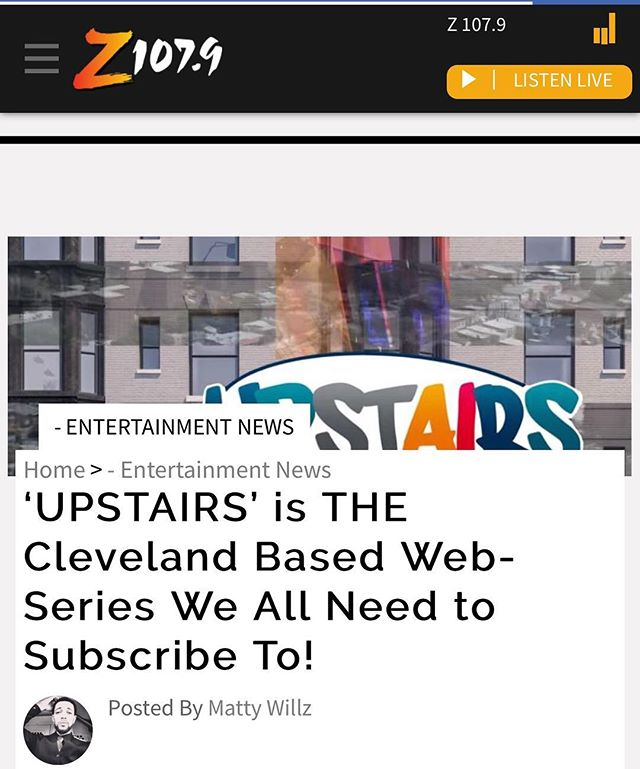 First @afropunk then @theextranegroes and now @z1079 is talking #UpstairsWS you don't want to be the only one who hasn't been Upstairs yet. See what all the hype is about #LinkInBio shout out to @mattywillz_23 @shutupmarc and the entire team at the hottest radio station in #TheLand
