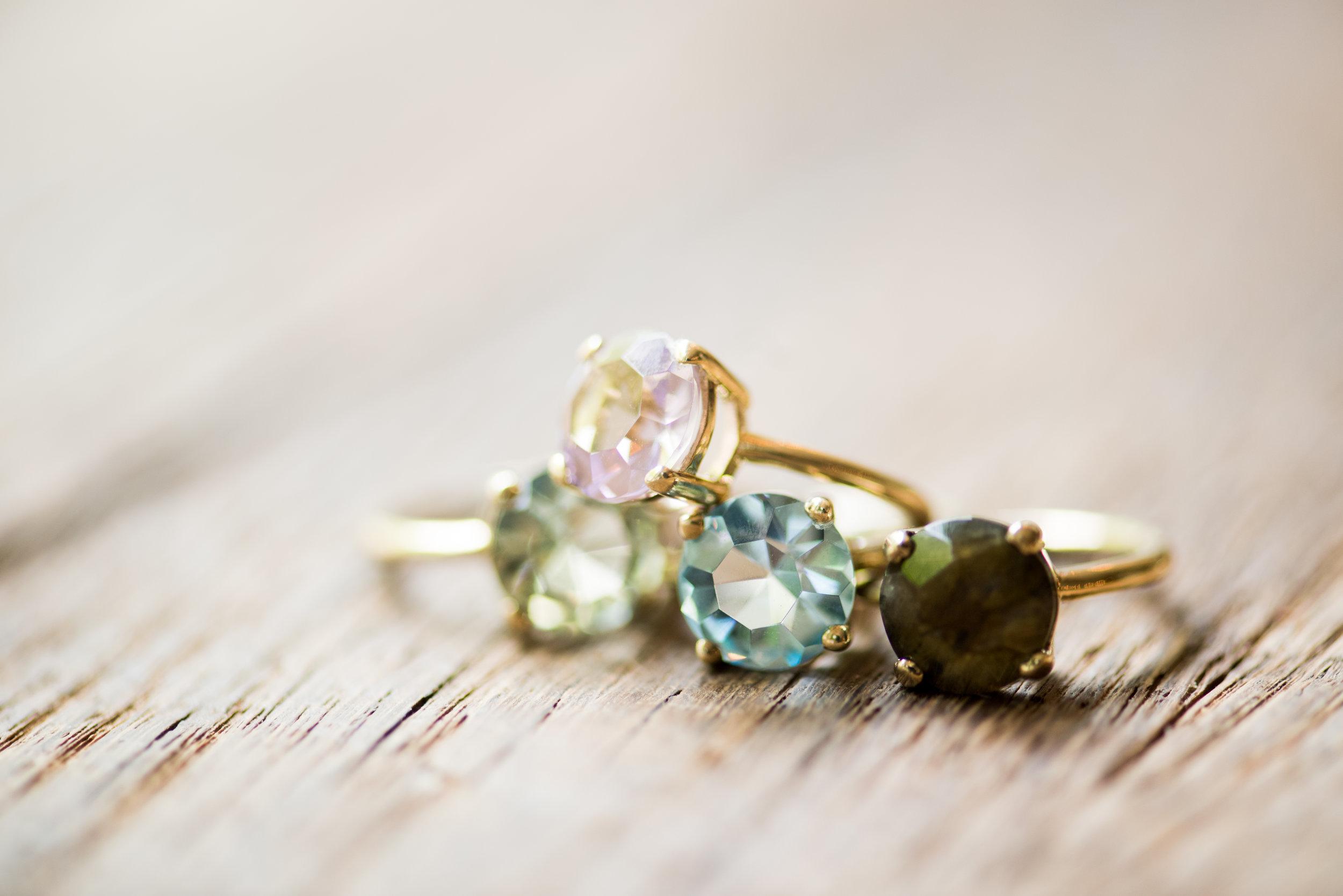 Luscious gemstones -