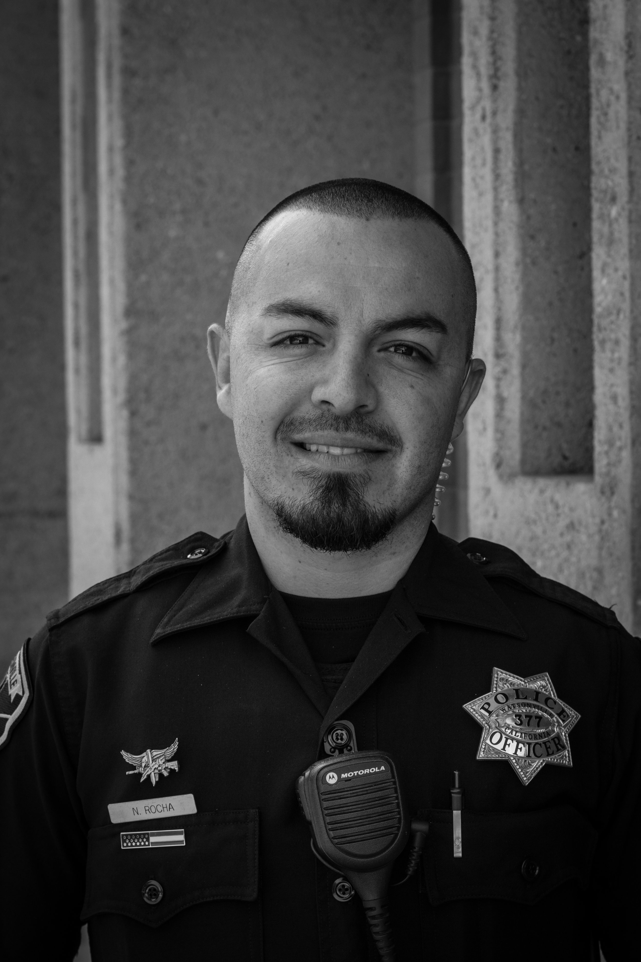 "Noe Rocha   Noe is also proud to support his fellow officers in this fundraiser and show his community the importance of cancer awearness. He wants people to know that he is supporting Jacob's Heart because ""You never know when you will be the one that needs help"""