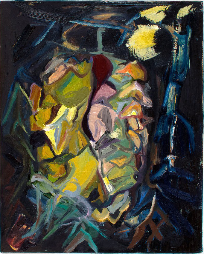 Lightfoot  2014 oil on canvas 10 x 8 in.