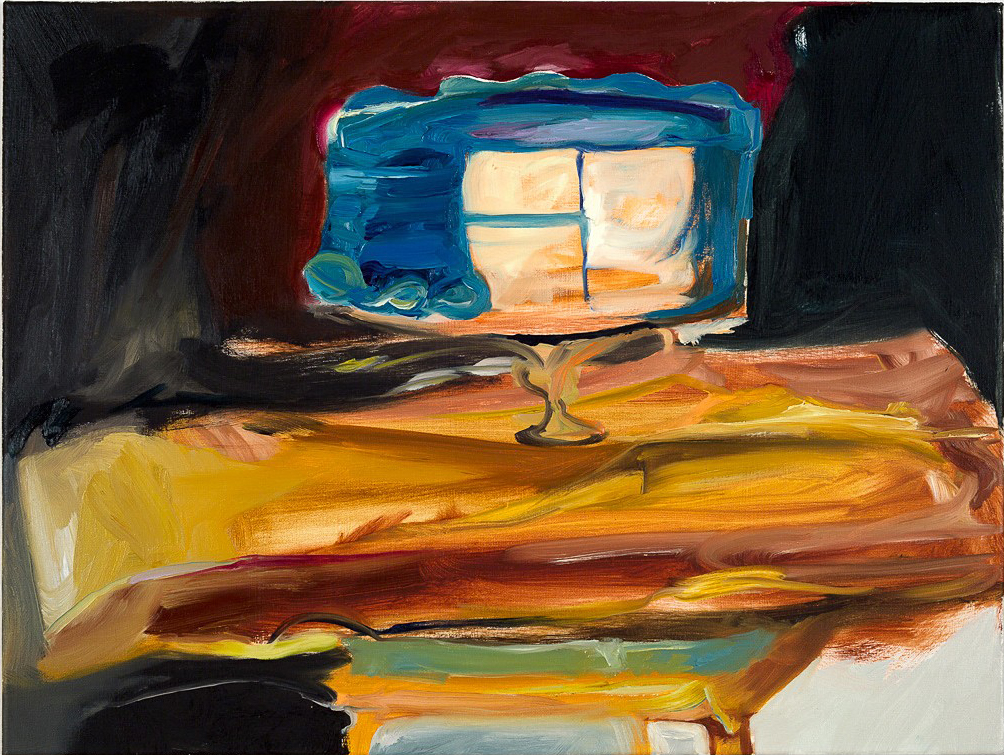 Seconds  2014 oil on canvas 18 x 24 in.