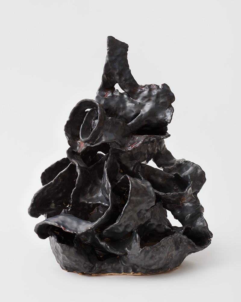 Untitled, glazed porcelain, Courtesy the artist