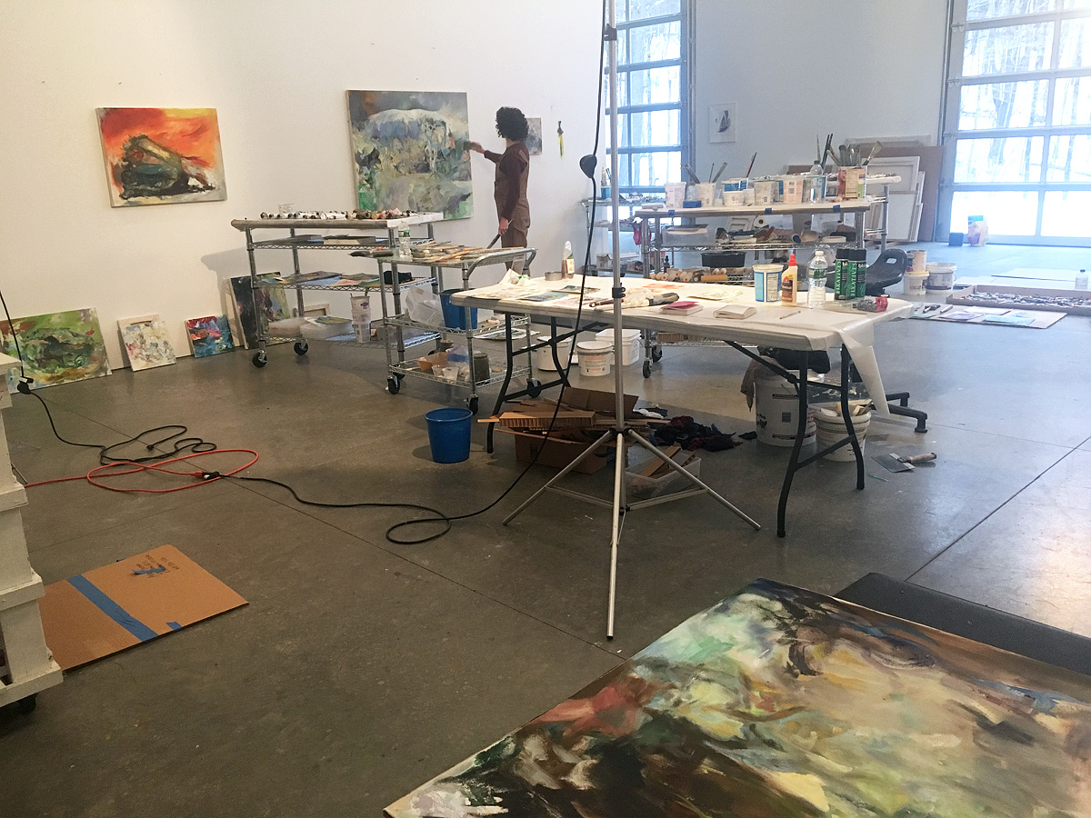 East Chatham studio January 2019