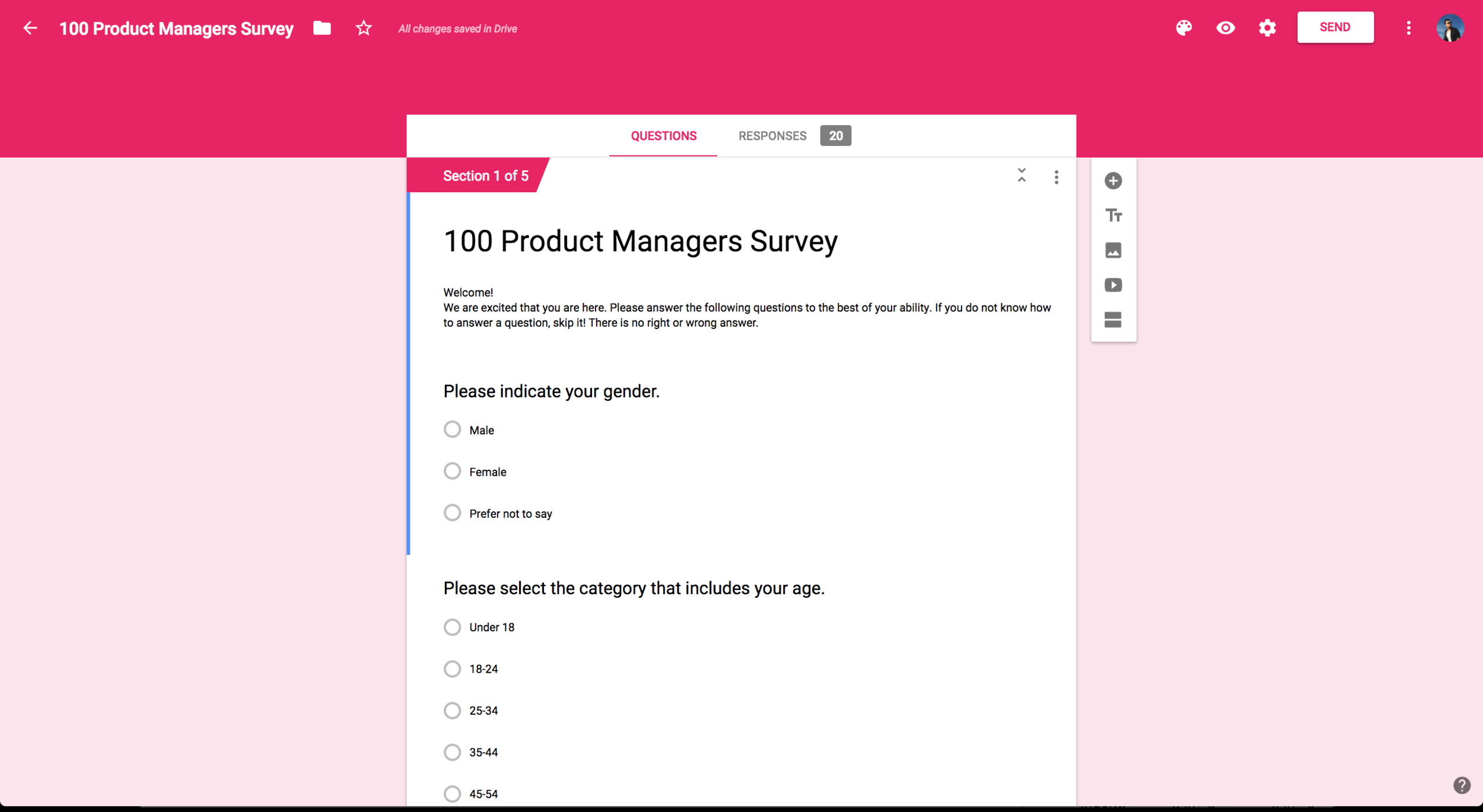 San Do UX Designer 100 Product Managers Survey