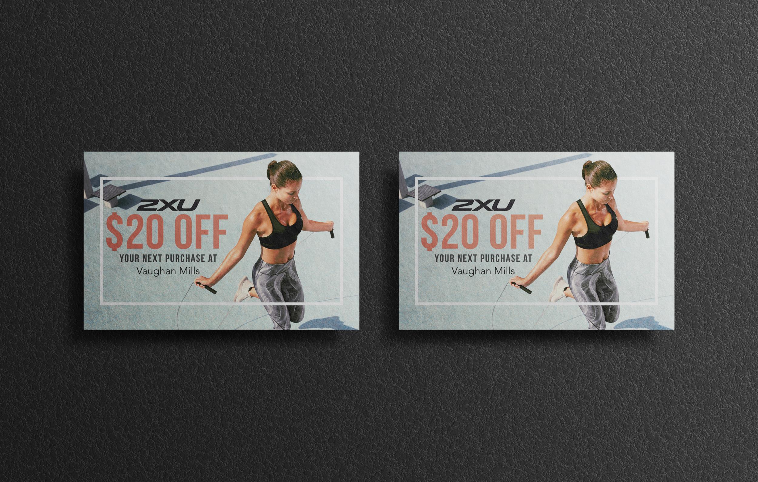 2XU Promo Cards