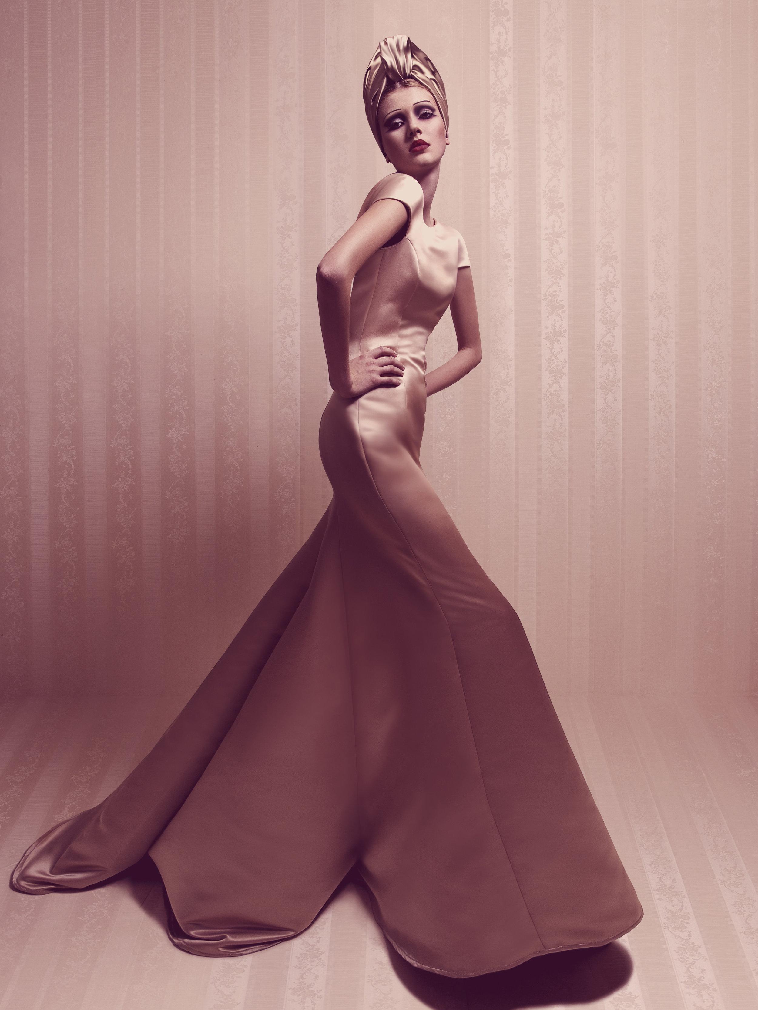 Kleid Ginger gold 1