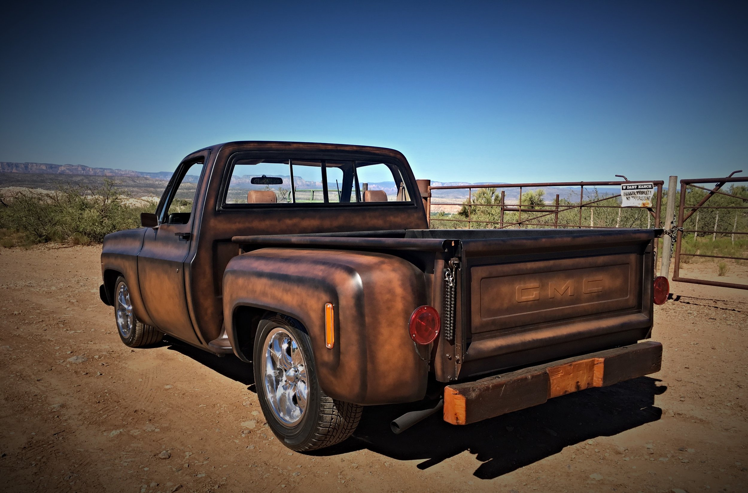 1977 Chevy C10 Squarebody Rawhide Ranch Rod