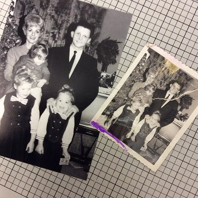 Photo Restoration  #cloutierfotographic #photo #photorestoration  #restoration #familyphoto #preservation #blackandwhite #darkroom #film #photoshop #colorado #coloradosprings