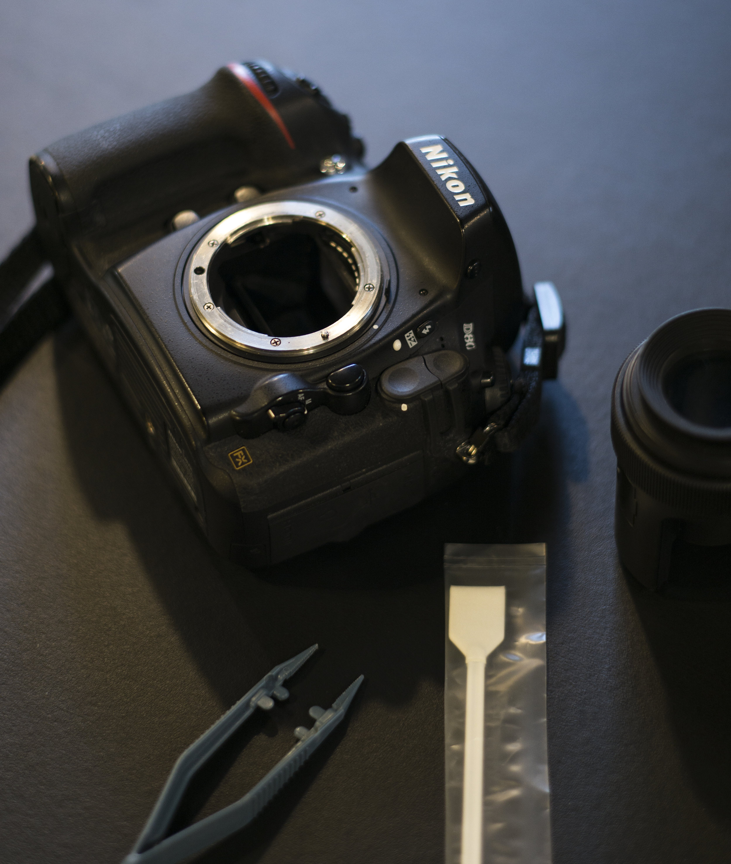 Digital Camera Sensor Cleaning