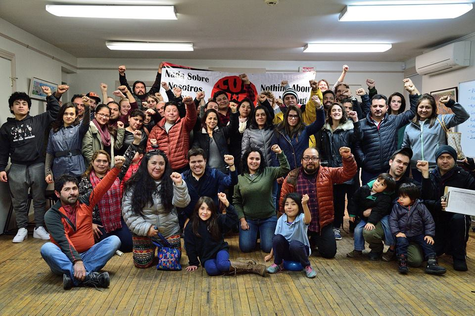 Members at the New Haven People's Center earlier this year. ULA Photo.