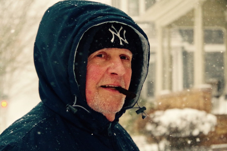 """A half-Yeti and Orange Street resident who asked to be identified as """"Fred."""" Lucy Gellman Photo"""
