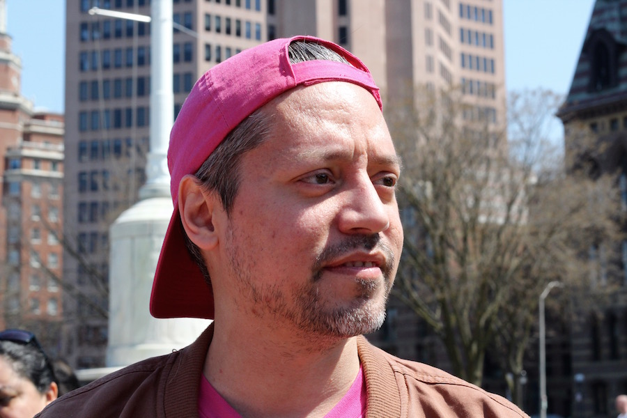 """Juancarlos Soto: """"I remember growing up and hearing how HIV was considered like a gay thing—a gay disease. So being in a time when the community comes out and stands up … standing up against stigma, it's really dope."""""""