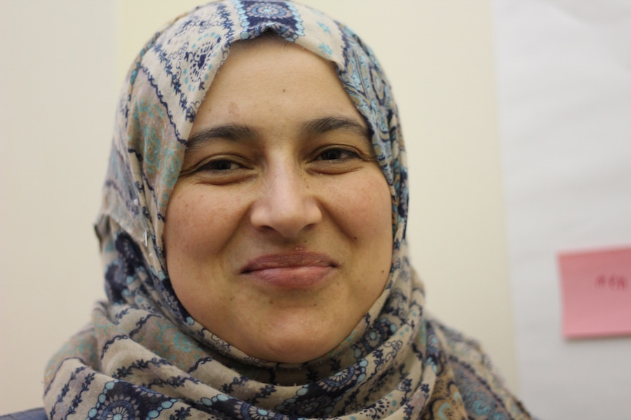 Hamda Alhraaki: Women and men can have any job.