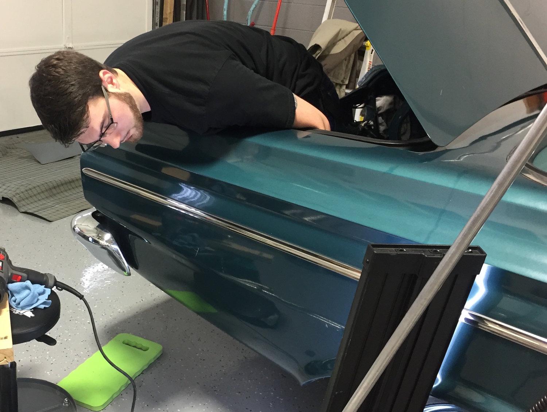 Michigan Paintless Dent Repair & Ding Removal