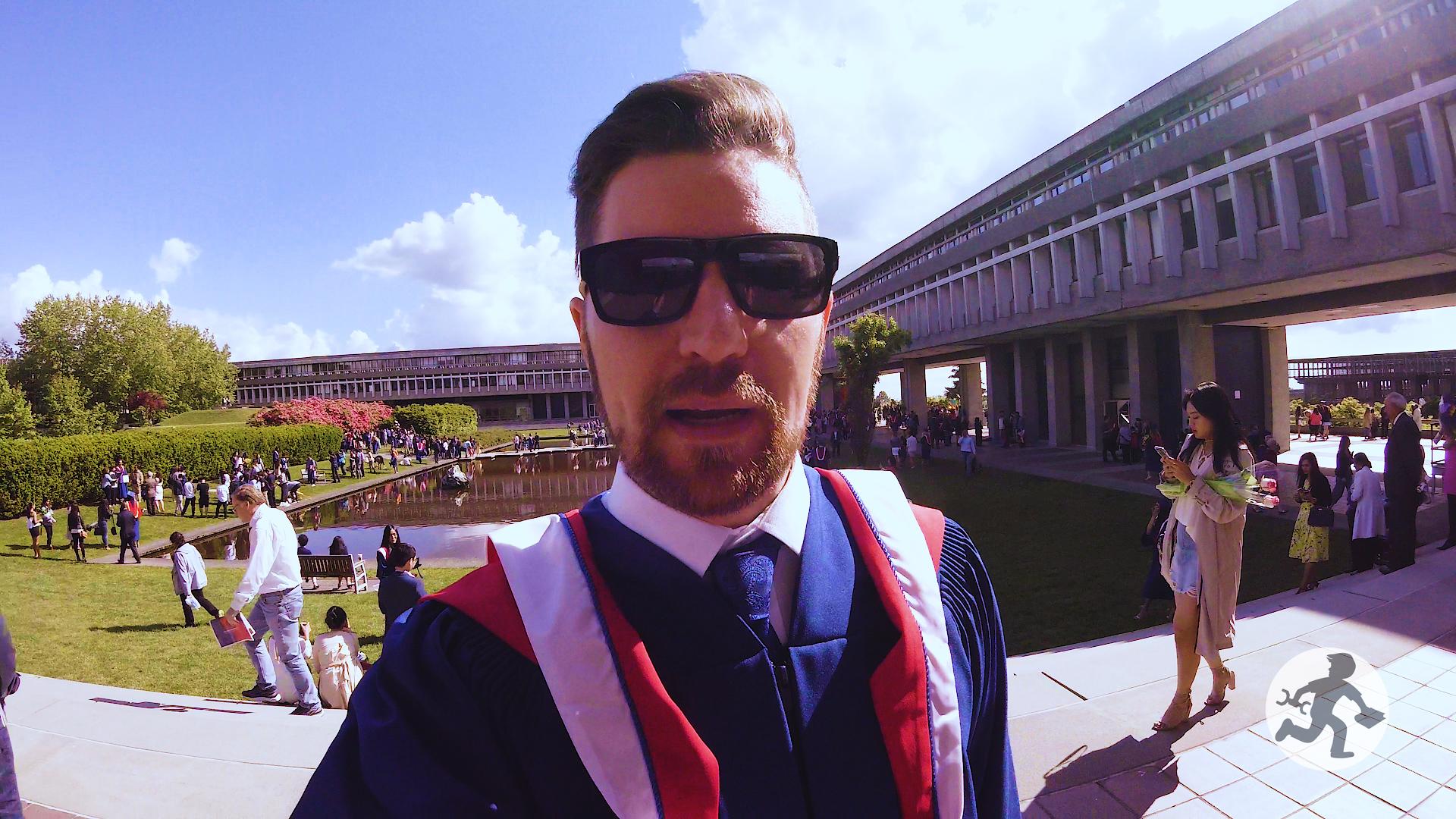 Masters Degree Graduation 1