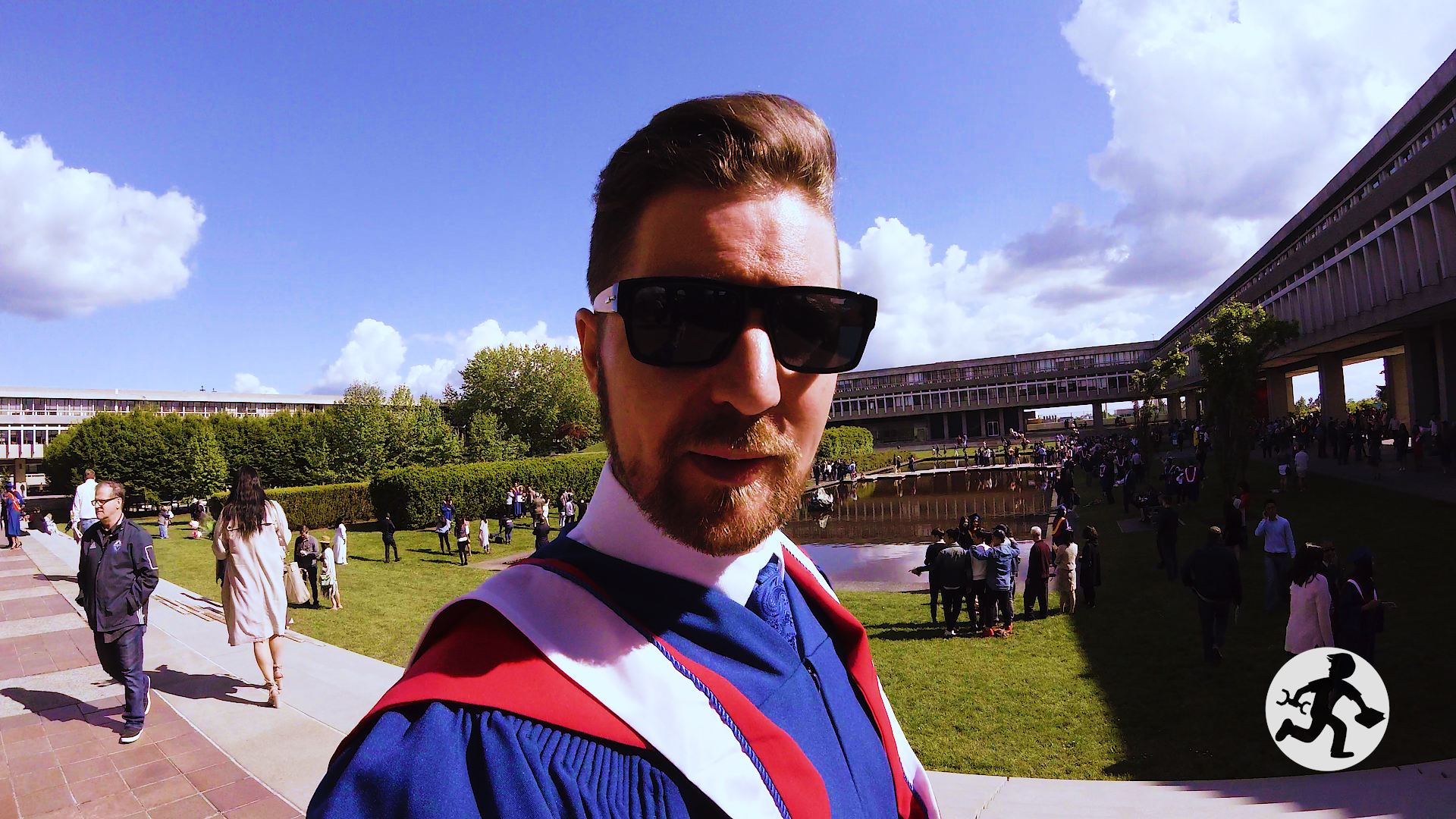 Masters Degree Graduation 3