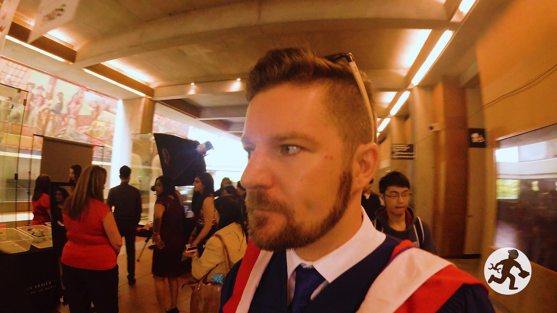 Masters Degree Graduation 4