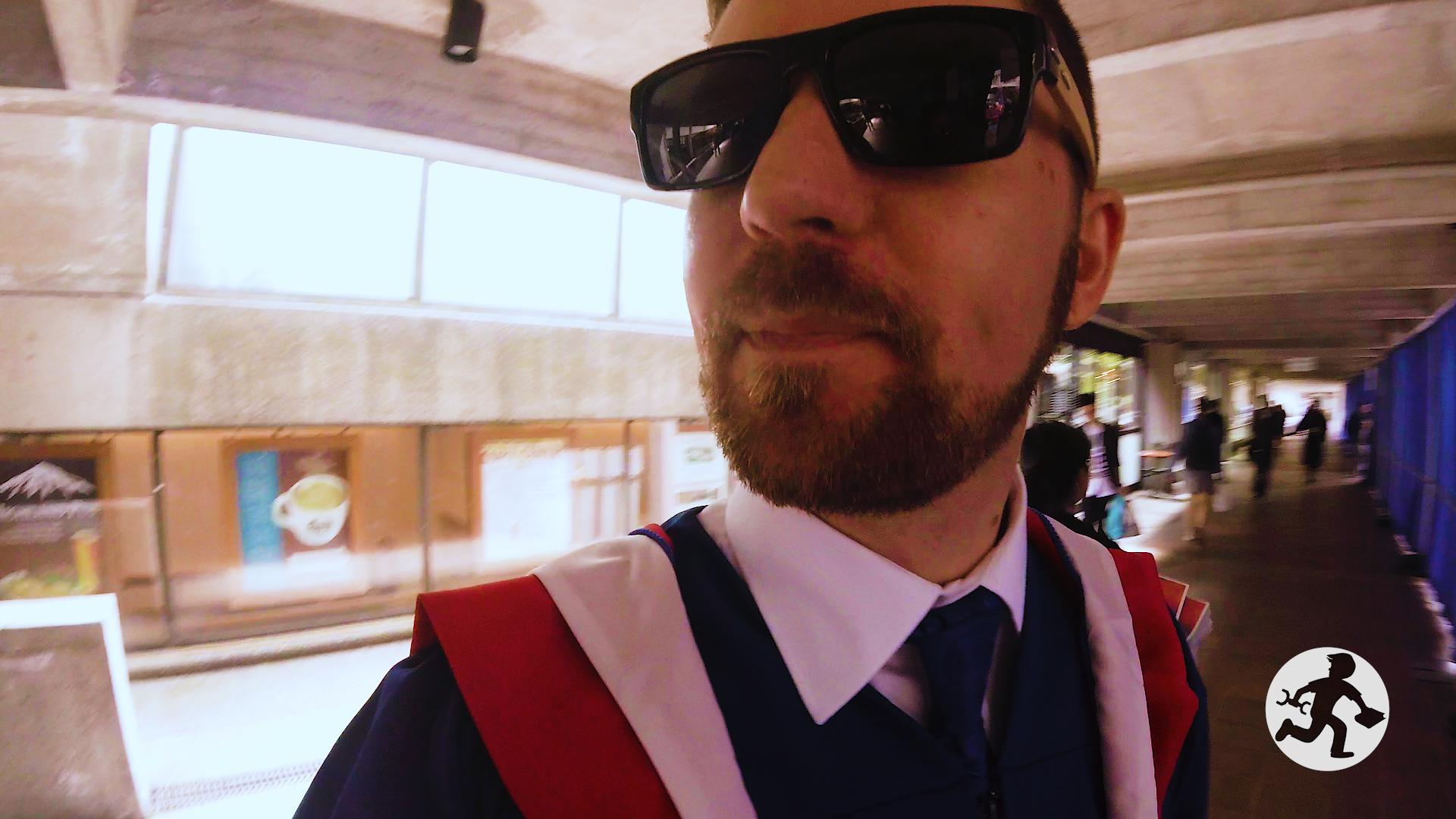 Masters Degree Graduation 6