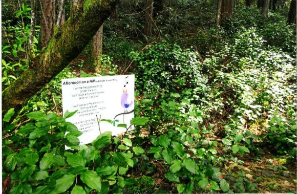 Look for poetry among the native plants at 5 Pierce County parks!