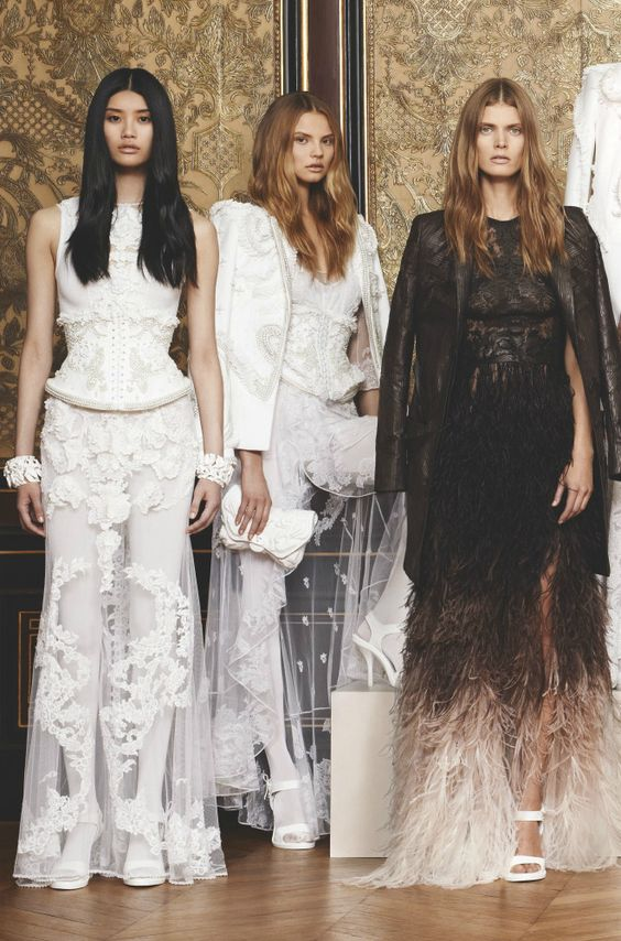 Givenchy wedding dresses in 2017 runway