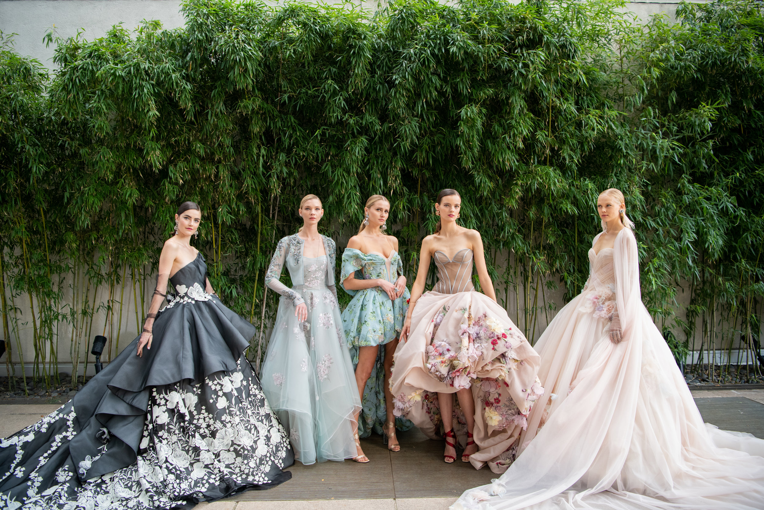 The Fall 2019 Ines Di Santo collection during Bridal Fashion Week. Photographed by Kathy Thomas Photography