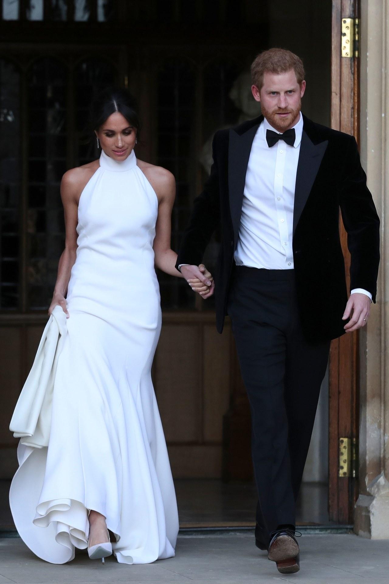 Meghan Markle reception wedding gown influential wedding 2018
