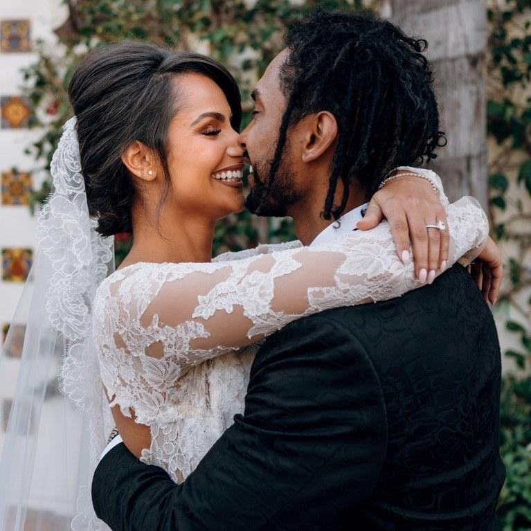 Miquel wedding photos monique lhuillier bride celebrity weddings